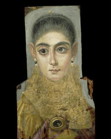 Portrait-du-Fayoum-jeune-femme-européenne