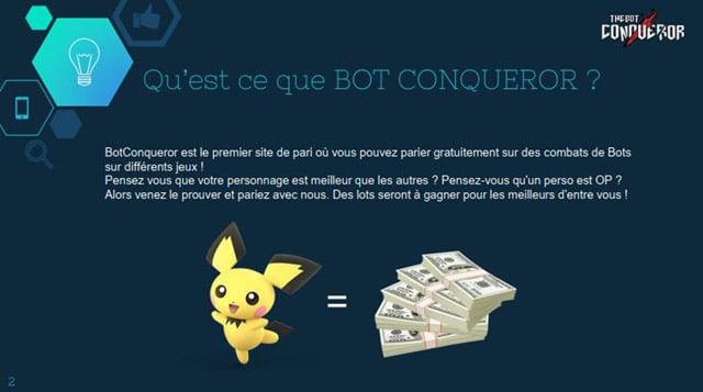 The bot Conqueror23