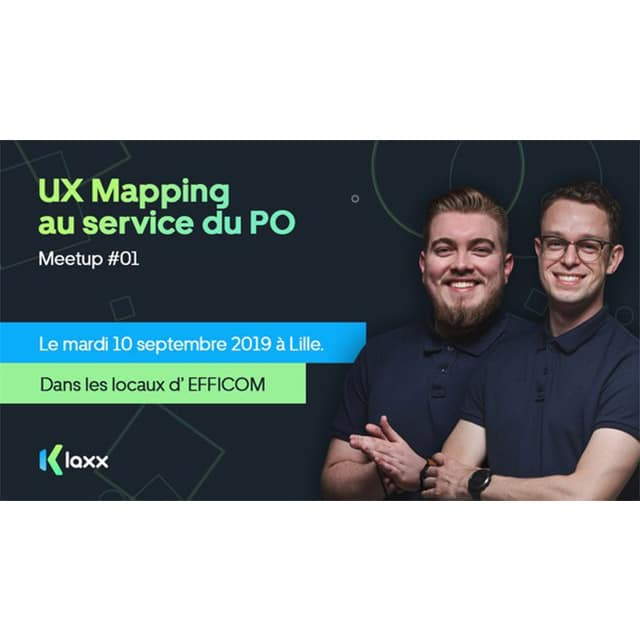 Le Meetup UX mapping
