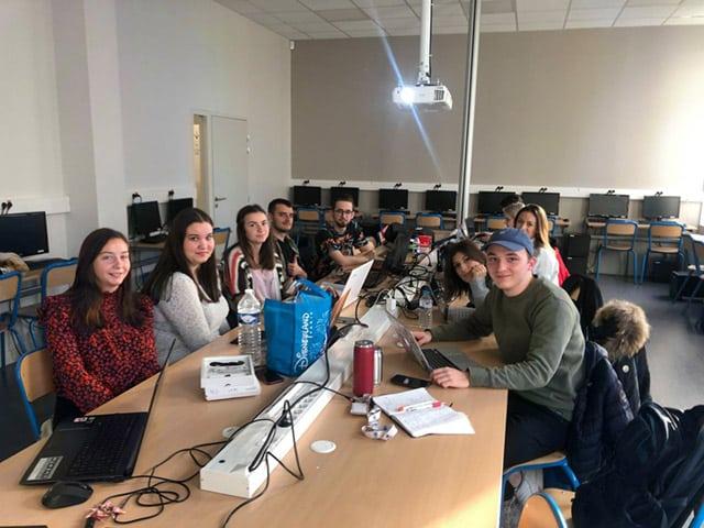 Etudiants de Bachelor Design 2