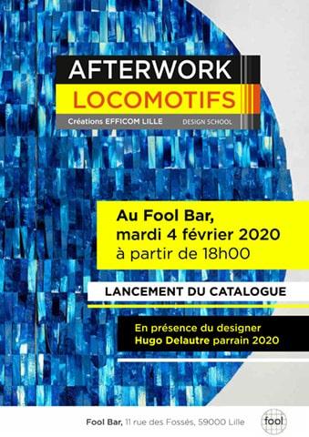 Afterwork Design au Fool Bar mardi 4 Février