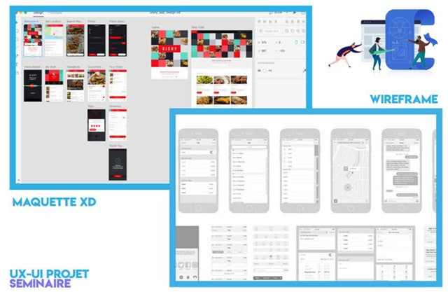 application mobile Adobe XD