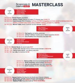 Evènements sur le campus : les Master Class 2021