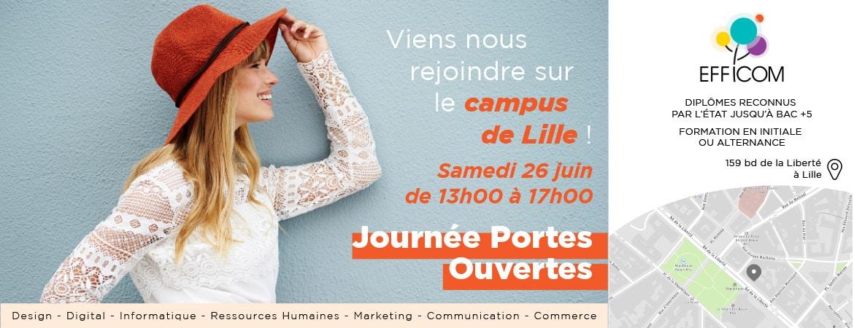 Journée Portes Ouvertes sur le Campus Samedi 26 Juin de 13h à 17h