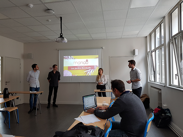 présentation finale Bonduelle des étudiants de 5eme année en Web-Digital et Design d'EFFICOM Lille - photo 1