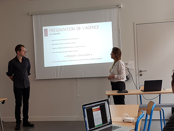 présentation finale Bonduelle des étudiants de 5eme année en Web-Digital et Design d'EFFICOM Lille - photo 3