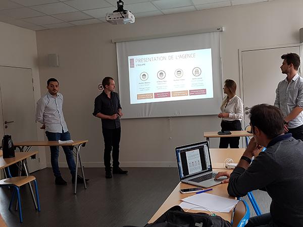 présentation finale Bonduelle des étudiants de 5eme année en Web-Digital et Design d'EFFICOM Lille - photo 4