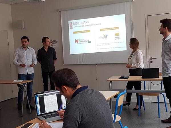 présentation finale Bonduelle des étudiants de 5eme année en Web-Digital et Design d'EFFICOM Lille - photo 5