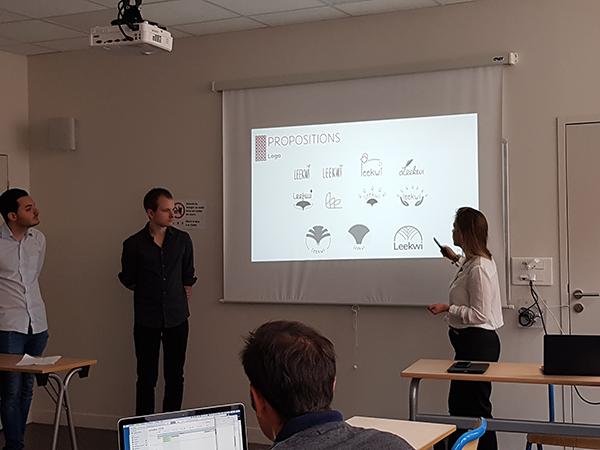 présentation finale Bonduelle des étudiants de 5eme année en Web-Digital et Design d'EFFICOM Lille - photo 6