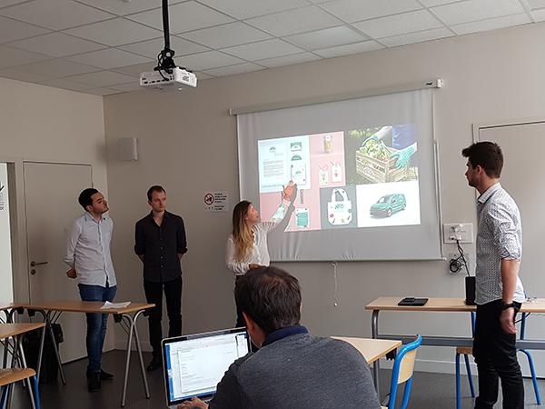 présentation finale Bonduelle des étudiants de 5eme année en Web-Digital et Design d'EFFICOM Lille - photo 7