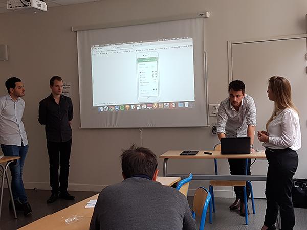 présentation finale Bonduelle des étudiants de 5eme année en Web-Digital et Design d'EFFICOM Lille - photo 9