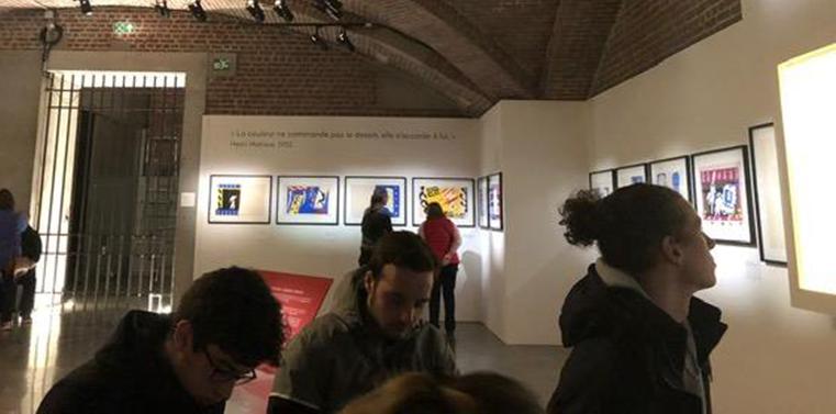 Exposition-des-collages-de-Matisse--Jazz-XXème-s