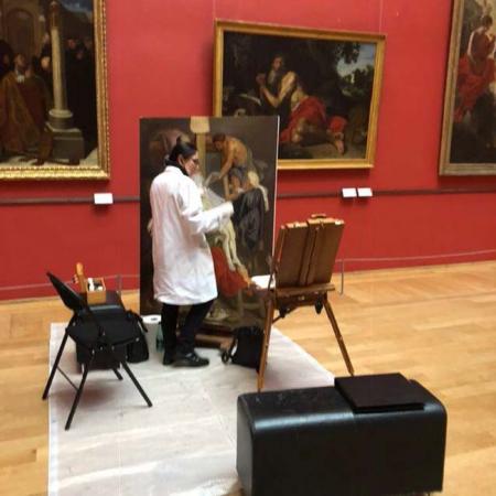 copie-d'un-tableau-baroque-de-Rubens-XVIIème-s