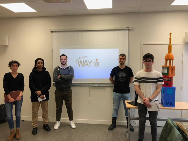 Bachelor Design EFFICOM Lille équipe Way Point