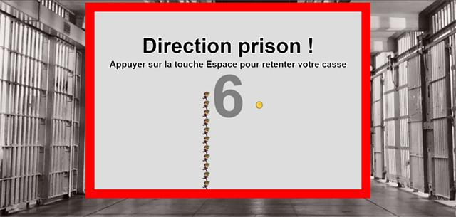 Direction prison