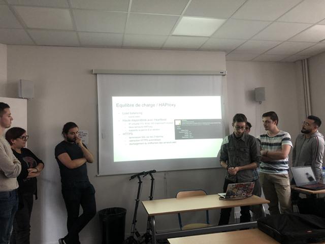 Présentation des étudiants Chef de projet en informatique