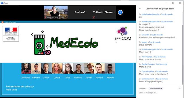 présentation étudiants TECH SCHOOL Lille