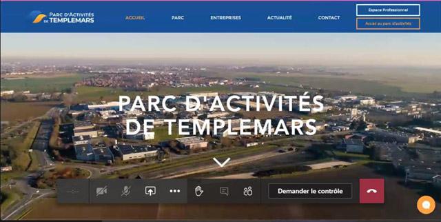 Projet site de la ZA Templemars
